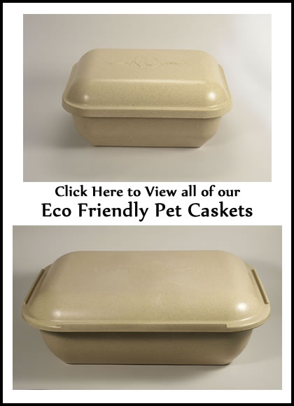 Eco-Friendly Pet Caskets - Dog Caskets - Cat Caskets