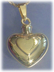 Double Heart Pet Cremation Jewelry